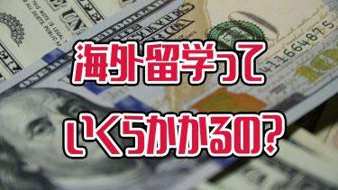 海外留学に必要なお金ってどれくらい?留学費用を少しでも安くする方法